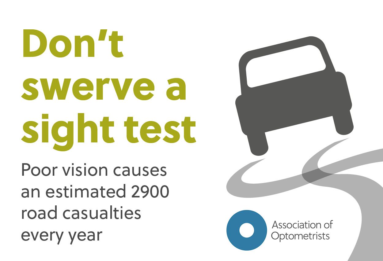 Don't swerve a sight test - the importance of good vision for driving