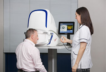 Hereford is the first UK town to have revolutionary eye imaging technology