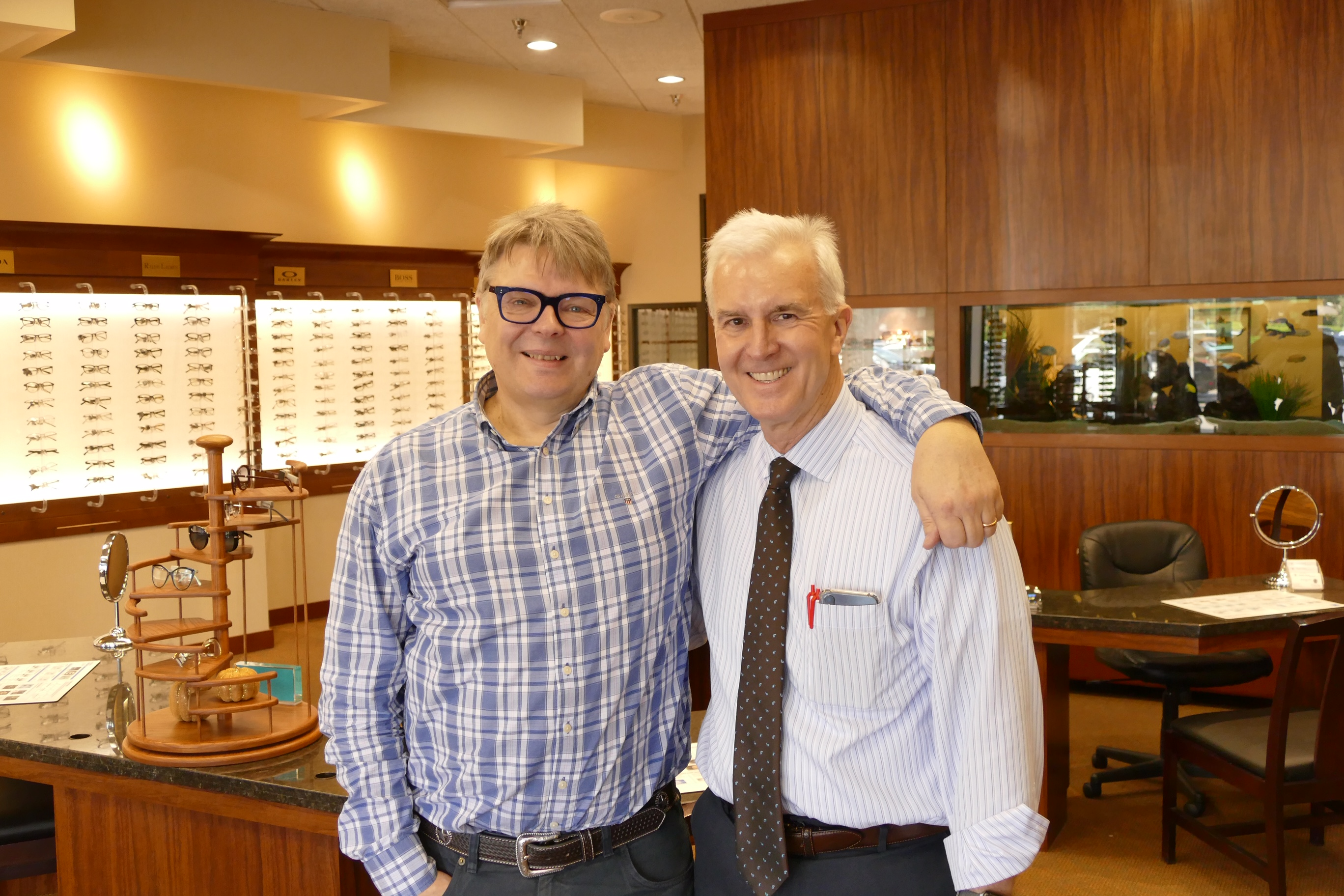 BBR chairman explores eye care in the USA
