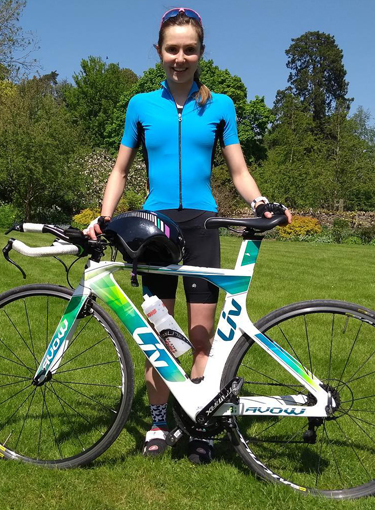 Herefordshire triathlete Jemima Cooper races ahead with BBR Optometry