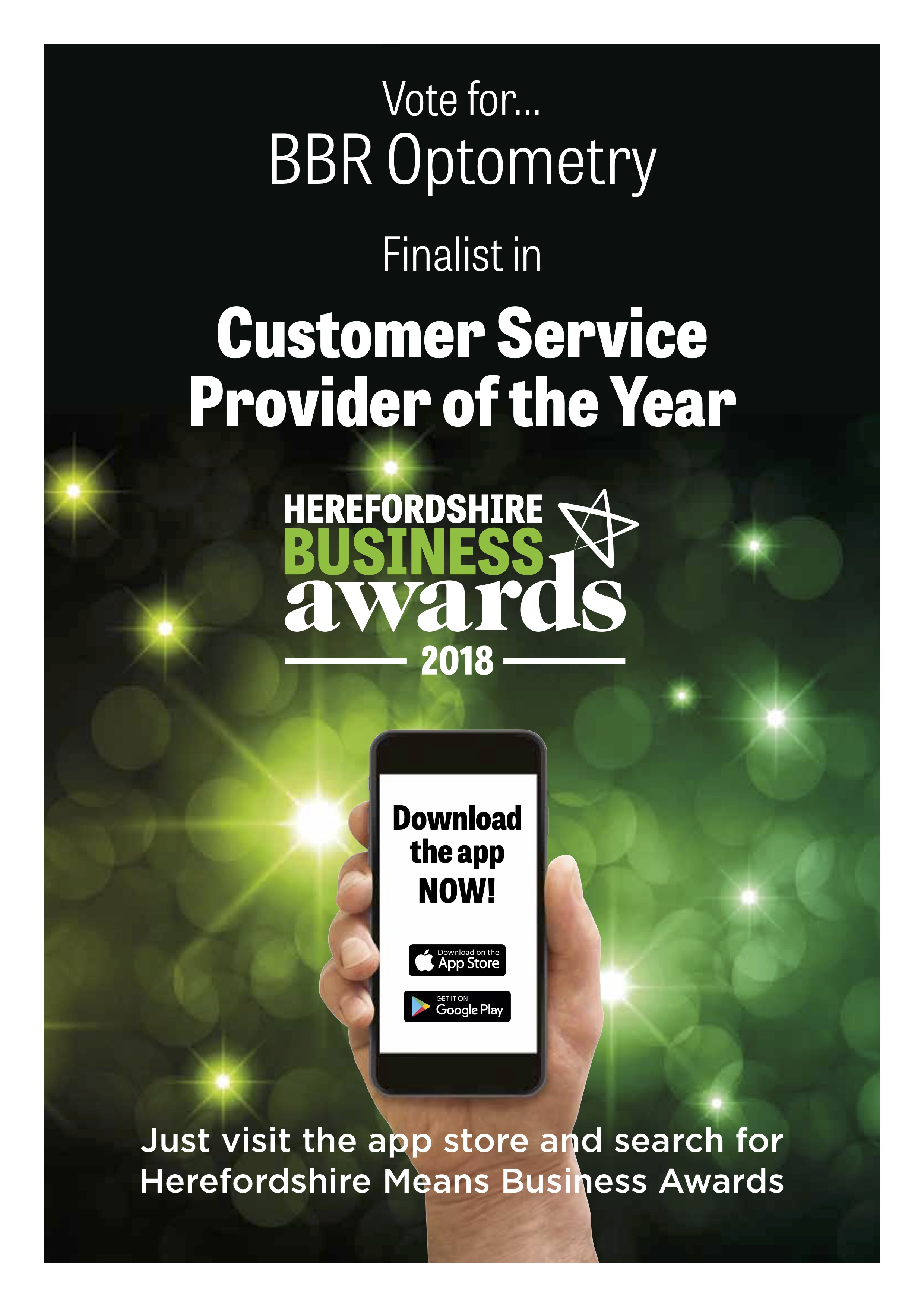 BBR shortlisted for two top business awards – vote for us now