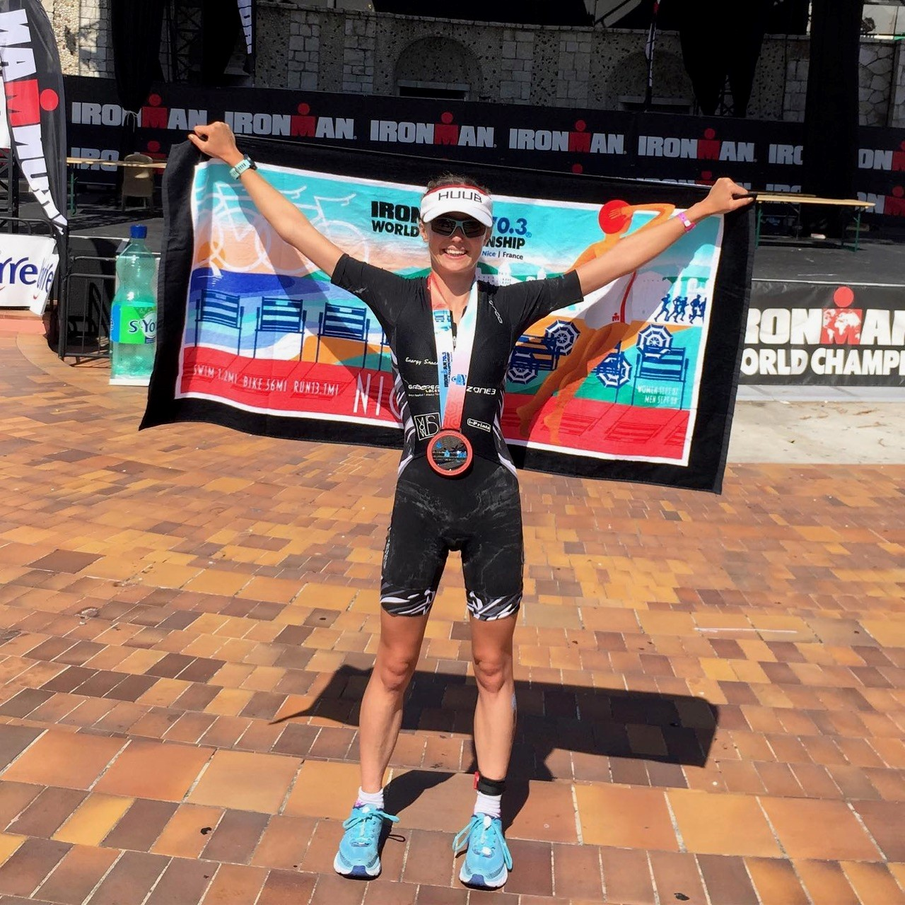 Hereford triathlete completes first world championship with support from BBR Optometry